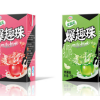 China: Yili launches UHT yoghurt drink with  juice-filled balls