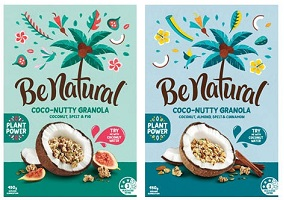 Australia: Be Natural launches cereal to be paired with coconut water