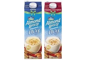 USA: Blue Diamond launches non-dairy egg nog