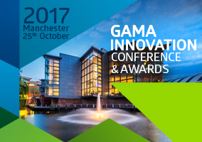 Date and venue announced for the Gama Innovation Conference and Awards 2017 in Manchester
