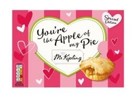 UK: Premier Foods launches new Mr Kipling packaging range for Valentine's Day