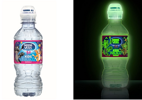 Italy: Sanpellegrino launches glow in the dark bottled water